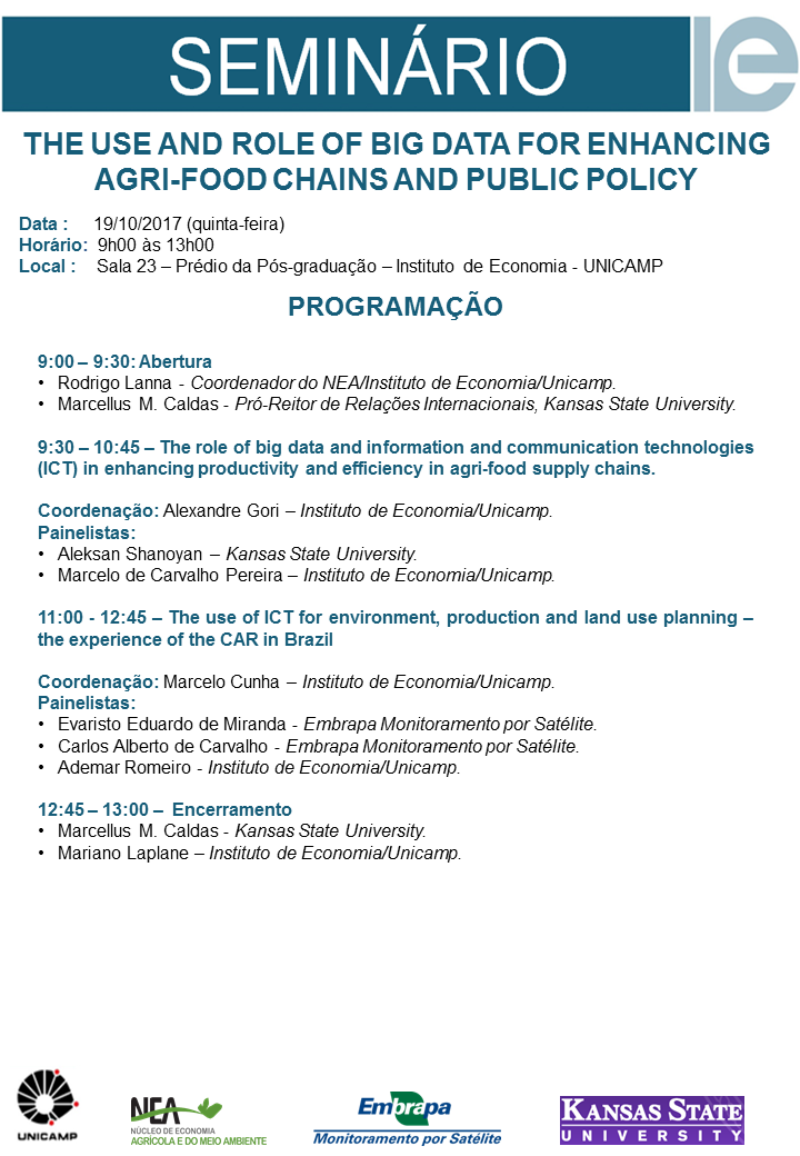 Evento IE Unicamp Sala23